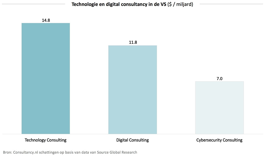 Technologie en digital consultancy in de VS