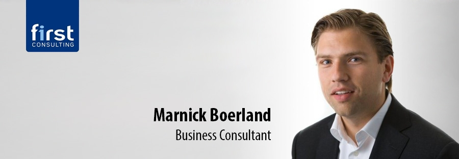 Marnick Boerland - Business Consultant bij First Consulting