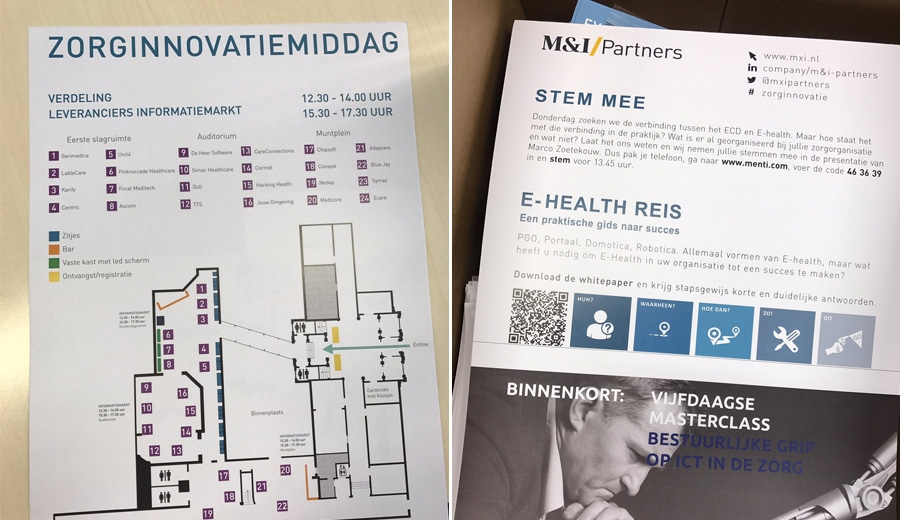 Zorginnovatiemiddag M&I Parnters