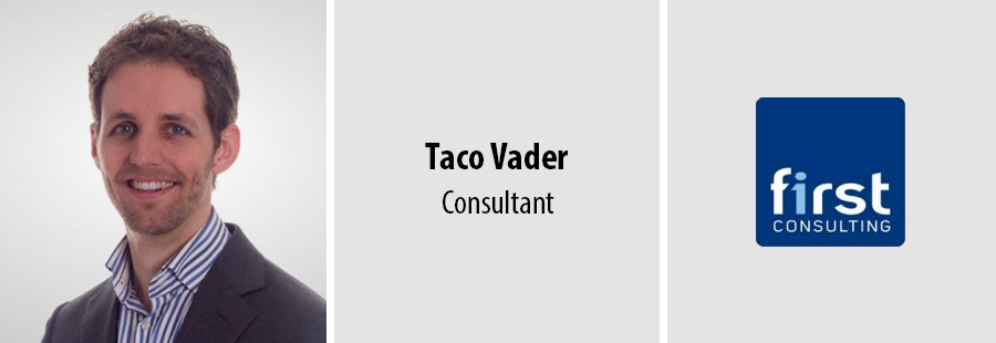 Taco Vader - Consultant bij First Consulting