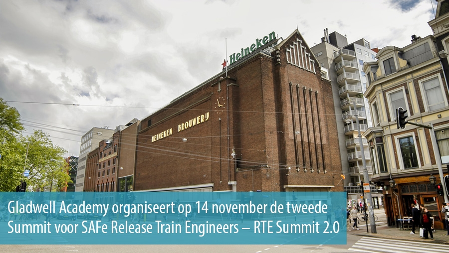 Gladwell en BlinkLane organiseren Summit voor SAFe Release Train Engineers