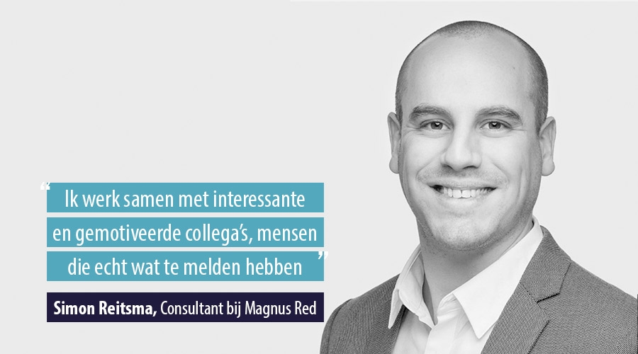 Quote Simon Reitsma Consultant bij Magnus Red