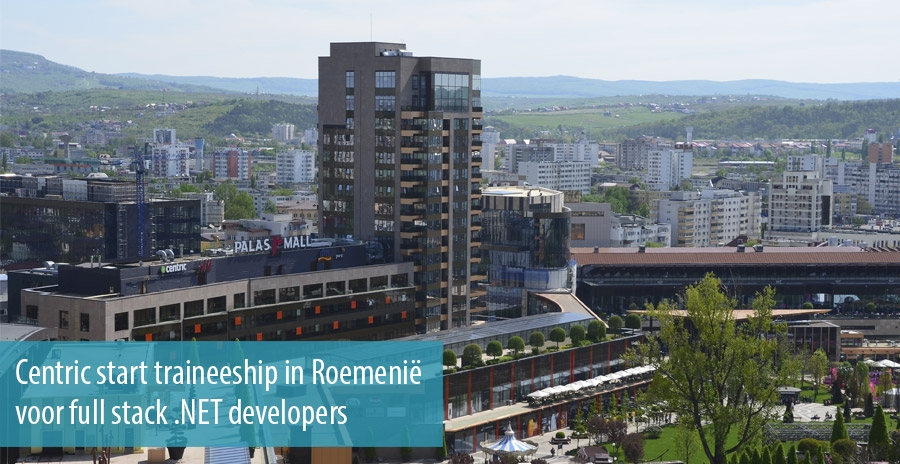 Centric start traineeship in Roemenië voor full stack .NET developers