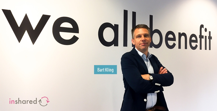 Bart Kling, Hoofd van Pricing en Analytics, InShared