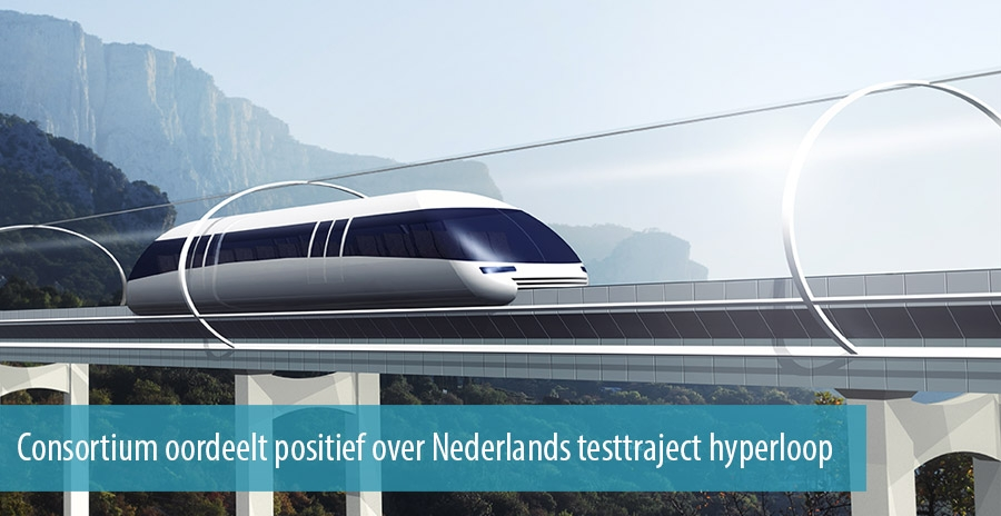 Consortium oordeelt positief over Nederlands testtraject hyperloop