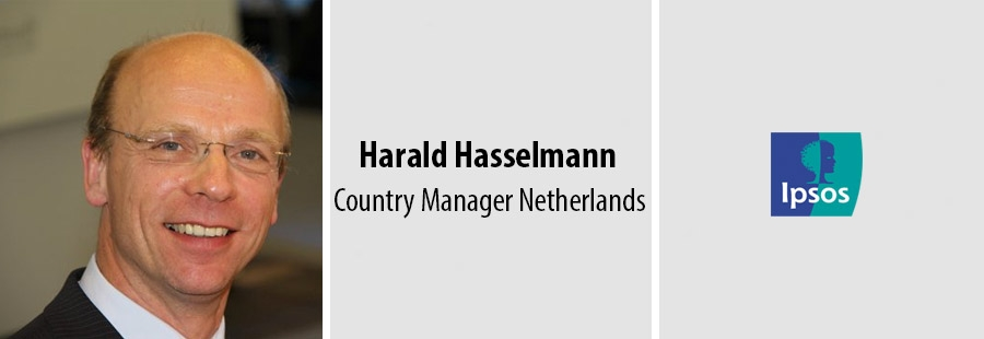 Harald Hasselmann, Country Manager Netherlands, Ipsos