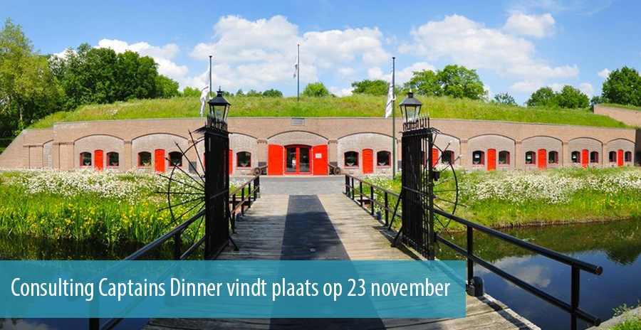 Consulting Captains Dinner 2017 vindt plaats op 23 november
