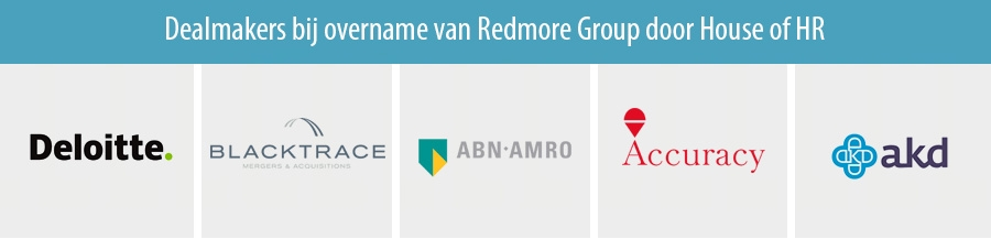 Dealmakers bij overname van Redmore Group door House of HR