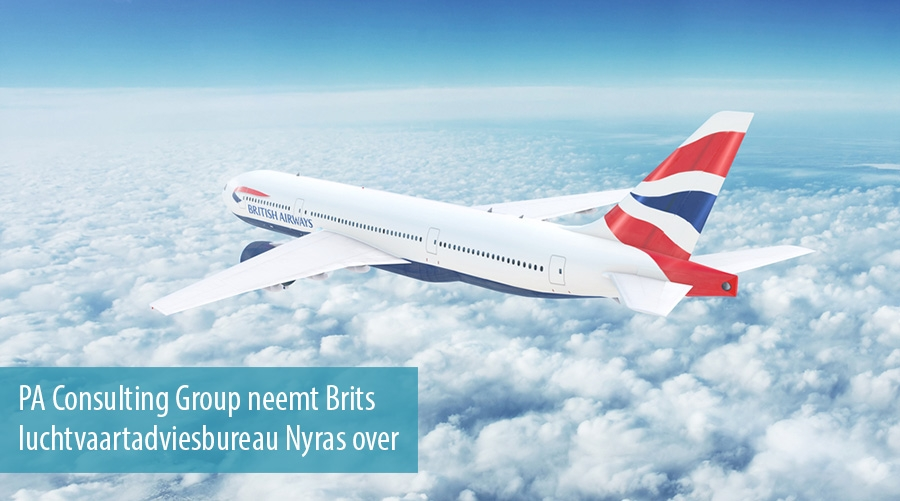 PA Consulting Group neemt Brits luchtvaartadviesbureau Nyras over
