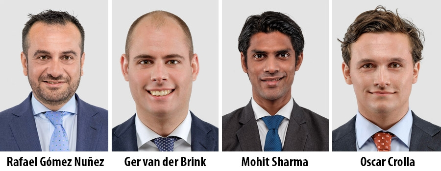 Rafael Gómez Nuñez, Partner - Ger van der Brink, Associate Director - Mohit Sharma, Associate Director – Oscar Crolla, Analyst