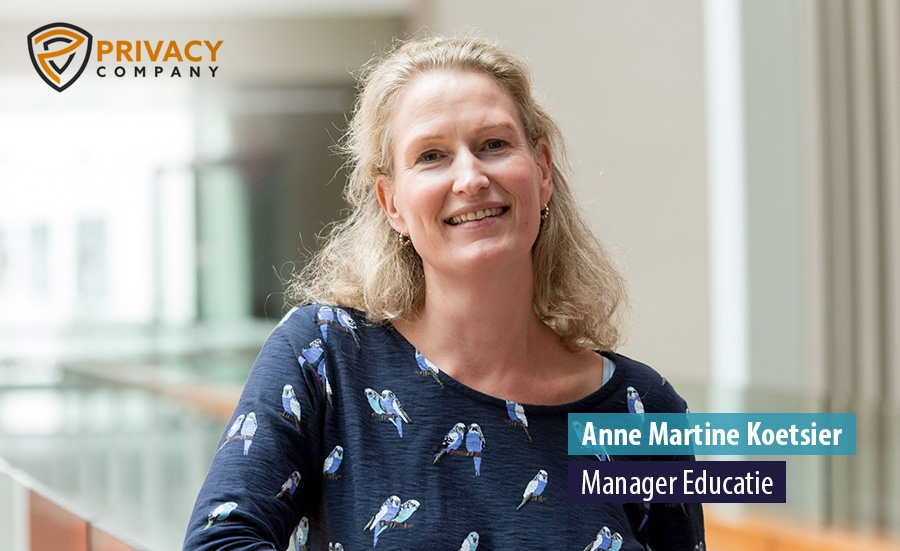 Anne Martine Koetsier - Manager Educatie - Privacy Company