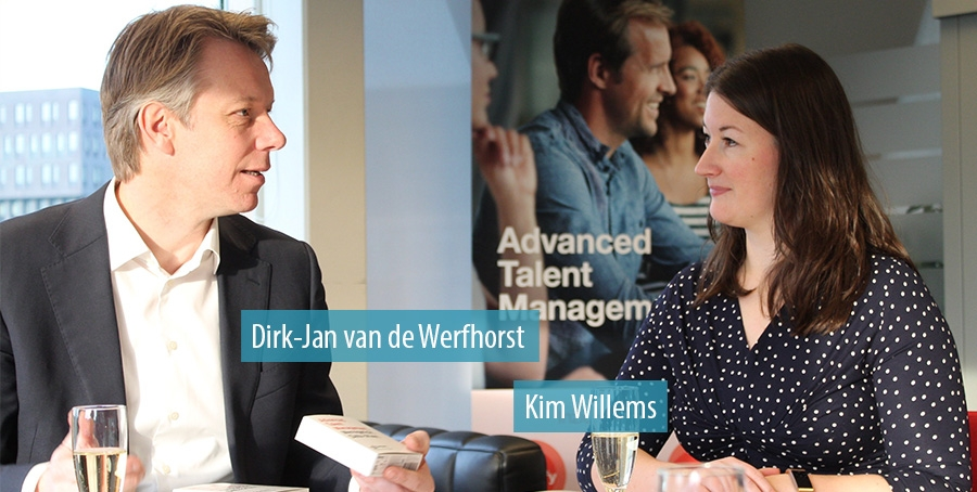 Dirk-Jan van de Werfhorst en Kim Willems