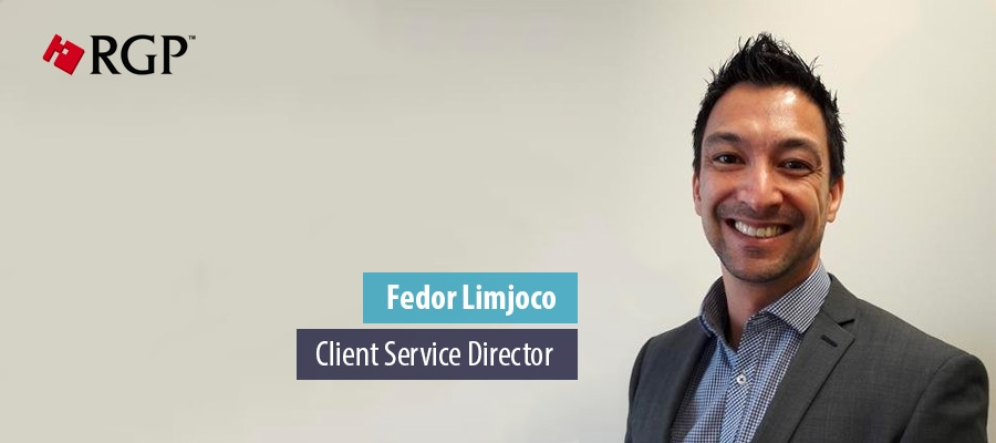 Fedor Limjoco, Client Service Director - RGP