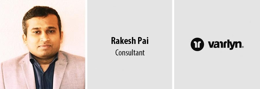 Rakesh Pai, Consultant - varrlyn