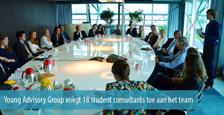 Young Advisory Group voegt 18 student consultants toe aan het team