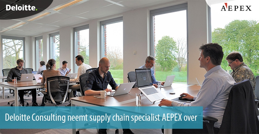 Deloitte Consulting neemt supply chain specialist AEPEX over