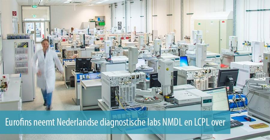 Eurofins neemt nederlandse diagnostische labs nmdl en lcl over