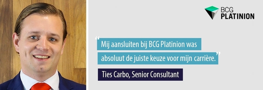 Ties Carbo - Senior Consultant bij BCG Platinion
