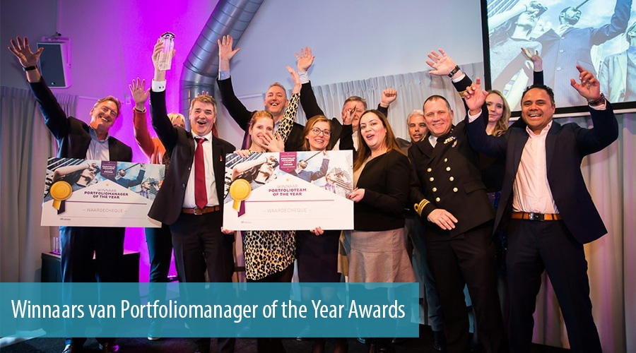 Winnaars van Portfoliomanager of the Year Awards