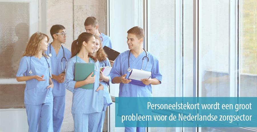 Personeelstekort wordt een groot probleem voor de Nederlandse zorgsector