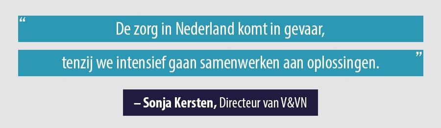 Quote Sonja Kersten, Directeur van V&VN