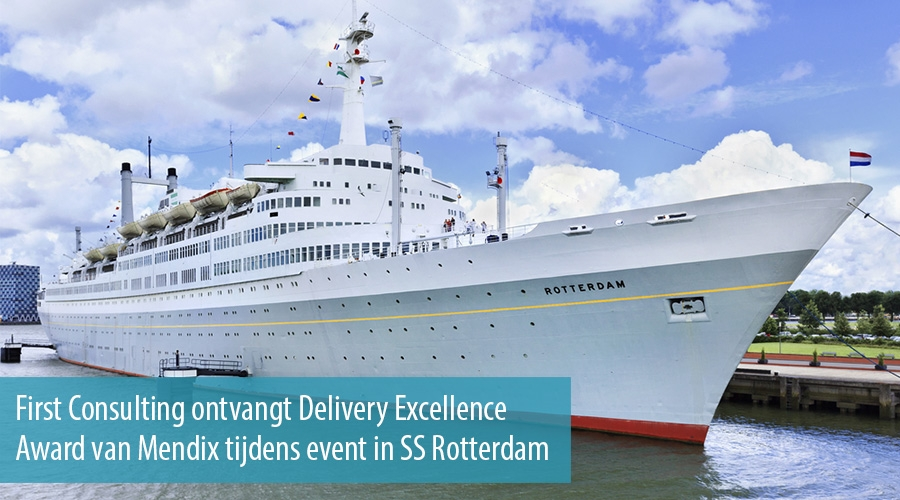 First Consulting ontvangt Delivery Excellence Award