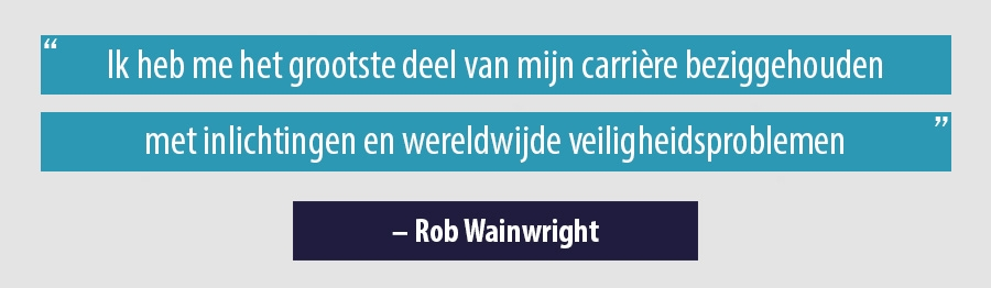 Quote Rob Wainwright