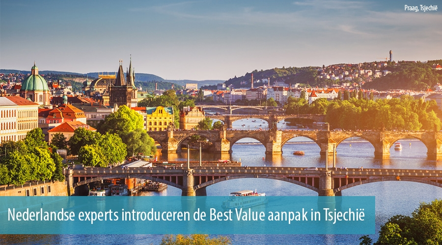 Nederlandse experts introduceren de Best Value aanpak in Tsjechië