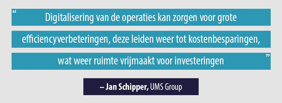Quote Jan Schipper, UMS Group