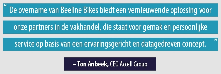 Quote Ton Anbeek, CEO Acell Group