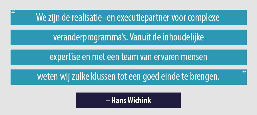 Quote Hans Wichink