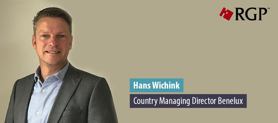 Hans Wichink, Country Managing Director Benelux, RGP