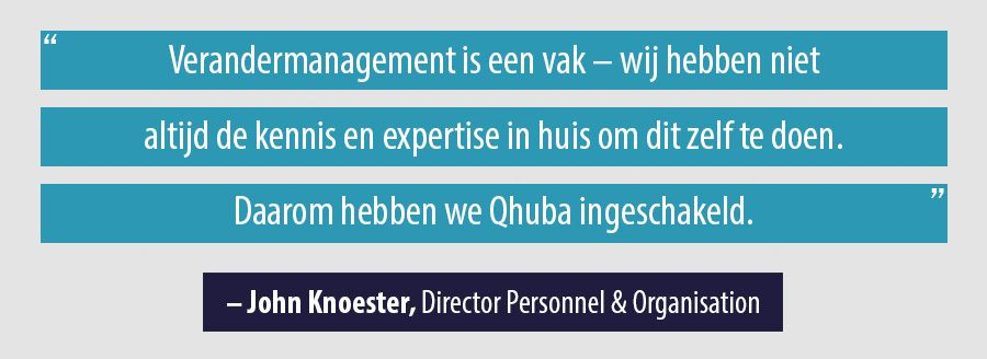 Quote John Knoester, Director Personnel & Organisation