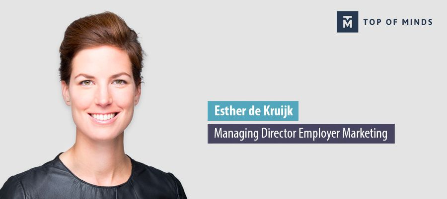 Esther de Kruijk, Managing Director Employer Marketing