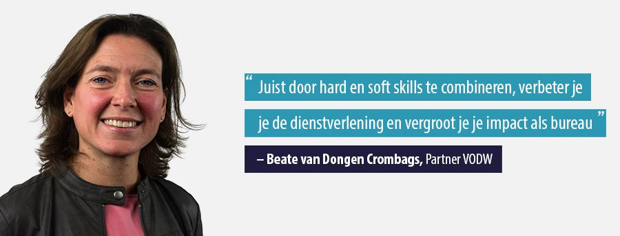 Quote Beate van Dongen Crombags, Partner VODW