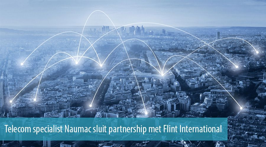 Telecom specialist Naumac sluit partnership met Flint International