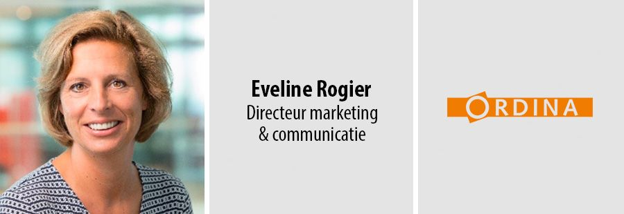 Eveline Rogier, Directeur marketing & communicatie - Ordina