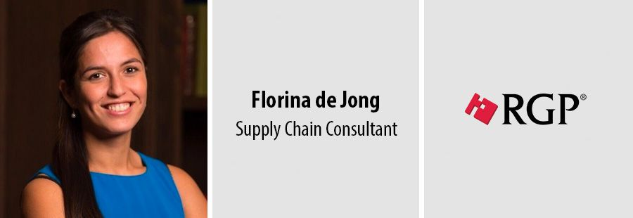 Florina de Jong, Supply Chain Consultant - RGP