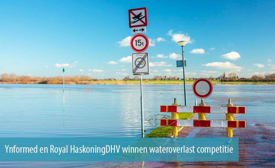 Ynformed en Royal HaskoningDHV winnen wateroverlast competitie