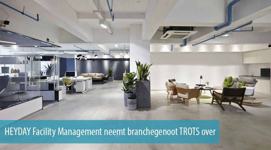 HEYDAY Facility Management neemt branchegenoot TROTS over