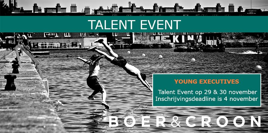 Boer & Croon Talent Event
