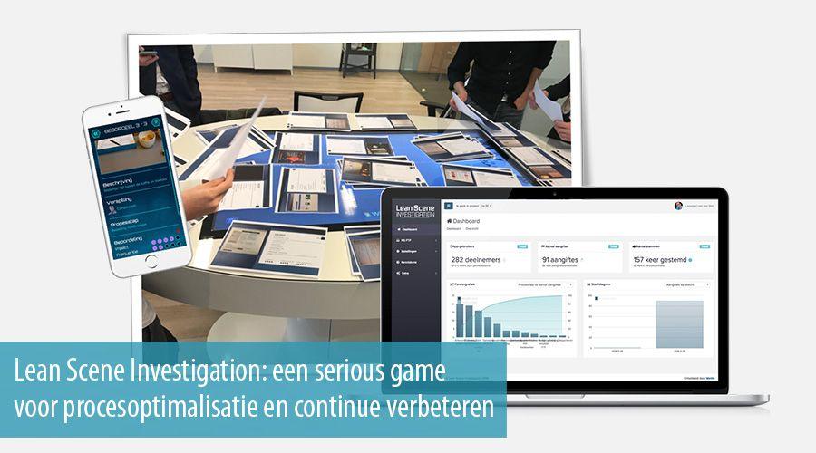 Lean Scene Investigation: een serious game voor procesoptimalisatie en continue verbeteren