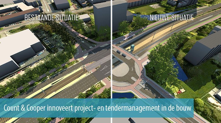 Count & Cooper innoveert project- en tendermanagement in de bouw
