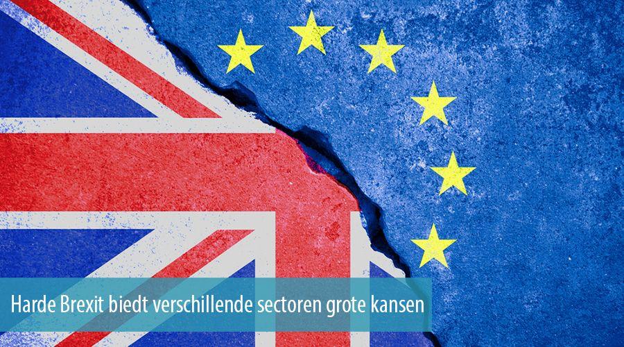 Harde Brexit biedt verschillende sectoren grote kansen