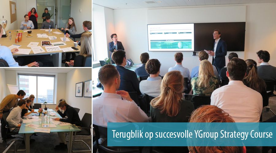 Terugblik op succesvolle YGroup Strategy Course
