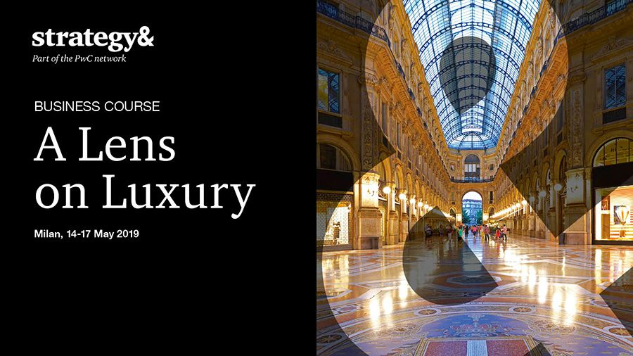 Strategy& - A Lens on Luxury