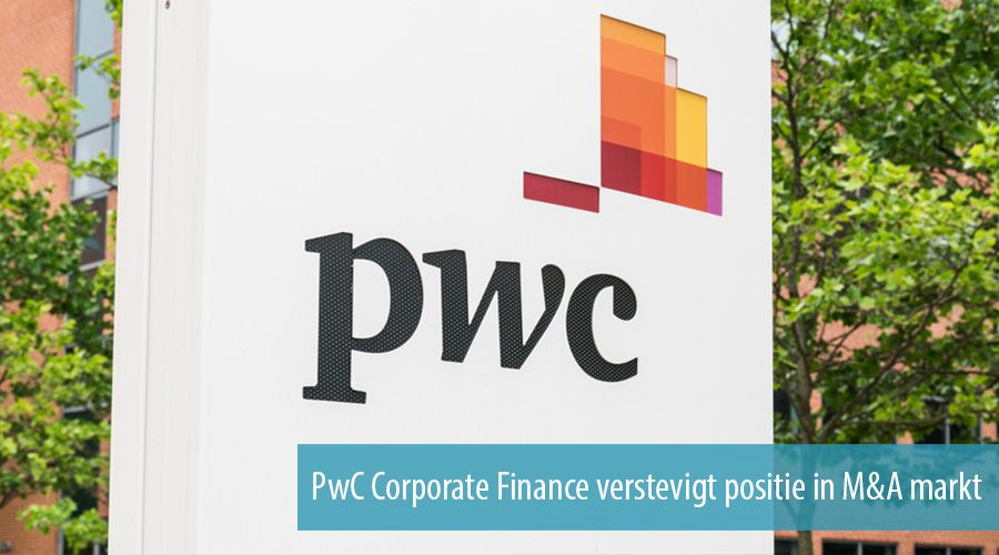 PwC Corporate Finance verstevigt positie in M&A markt