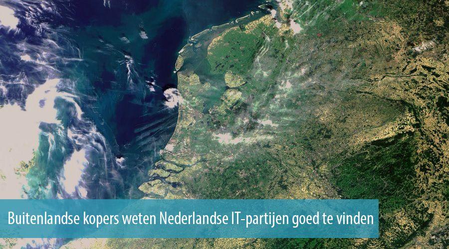 Buitenlandse kopers weten Nederlandse IT-partijen goed te vinden