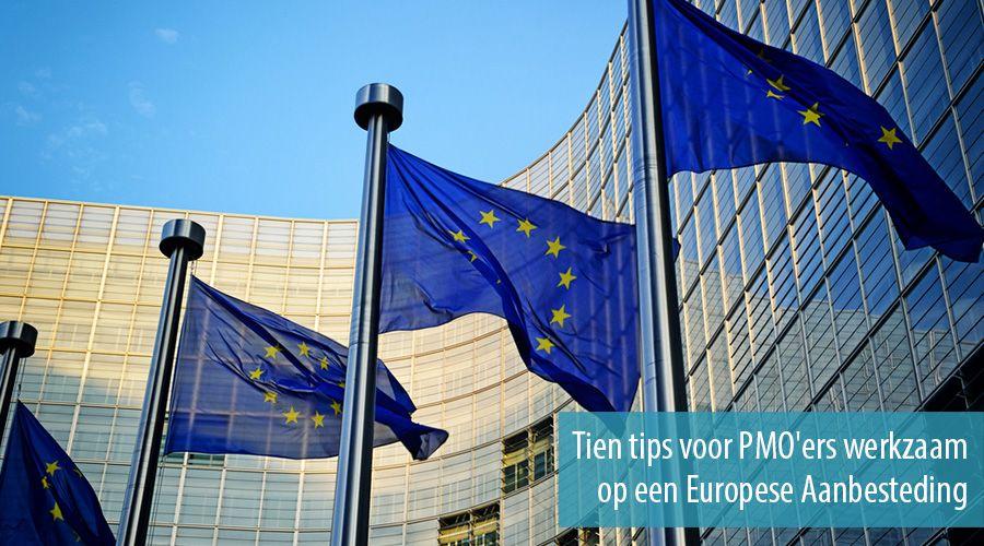 Tien Tips Voor Pmoers Werkzaam Op Een Europese Aanbesteding