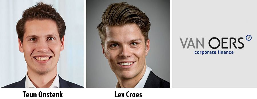 Twee young professionals gestart bij Van Oers Corporate Finance